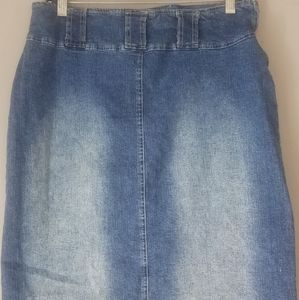 Dresses & Skirts - 80s Retro  Forenza Jean Pencil Skirt ❤